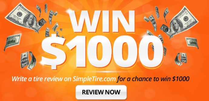 instant cash sweepstakes review simpletire product review sweepstakes 3 winners 1000 555