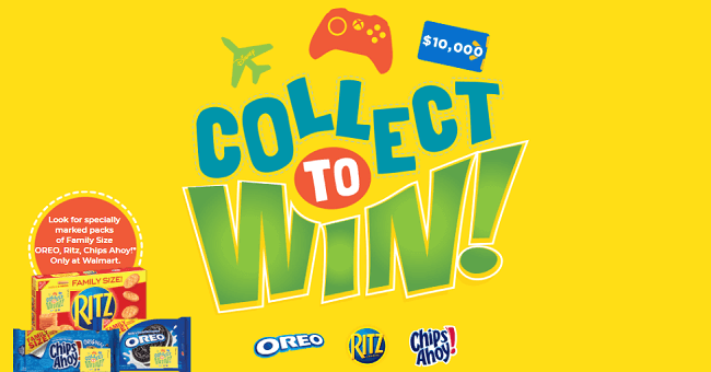 Walmart Collect Snack To Win Game