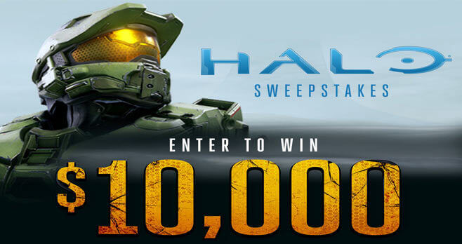 Spirit Halloween Halo Sweepstakes - Win $10,000 Cash