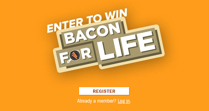 Smithfield Bacon for Life Sweepstakes (Baconforlifesweeps.com)