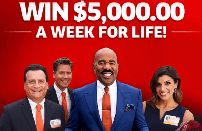 PCH Win $5000 A Week For Life Sweepstakes Entry 2019