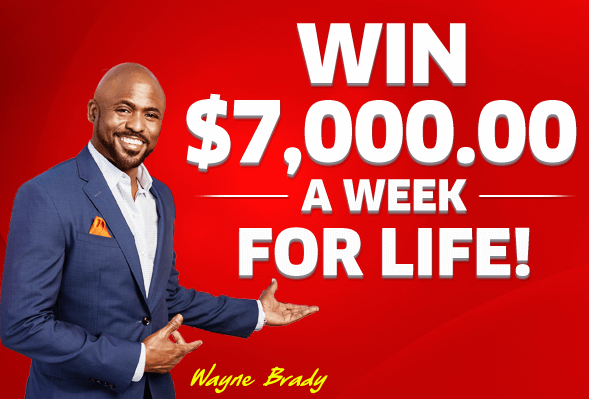 PCH Win $7,000 A Week For Life Sweepstakes 2019
