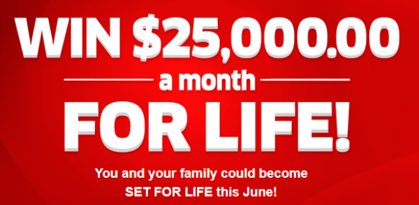 PCH Win $25,000 A Month For Life Sweepstakes Entry 2019
