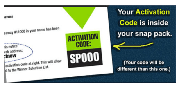 pch activate code