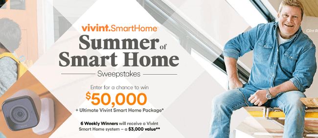 HGTV Summer Smart Home Sweepstakes (HGTV com/SmartSummer)