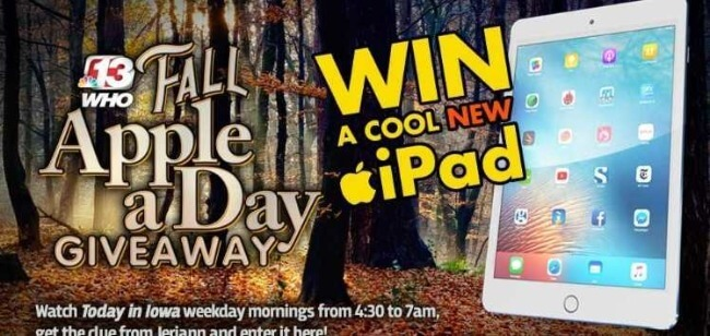 apple a day contest
