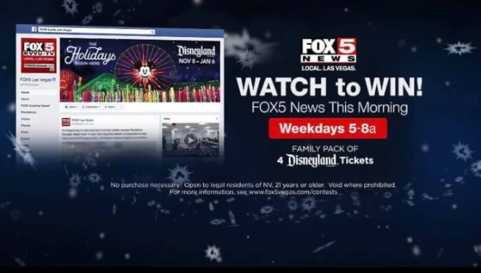 fox 5 news disneyland tickets contest