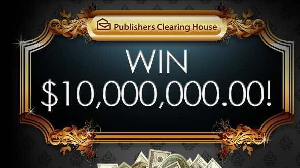 publishers clearing house 10 million