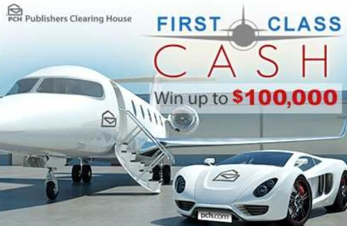 pch first class cash giveaway